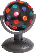 Rotating Disco Ball, Bi-directional, 5-Colours, Free Standing