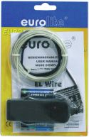 Eurolite EL wire 2mm, 2m, light blue
