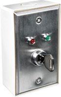 Nøglekontakt i vægdåse - 1P OFF-ON HAA80