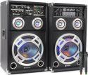 """SPD-10V Active Speakerset 10"""" USB/VHF"""