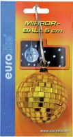 Eurolite Mirror ball 10cm yellow