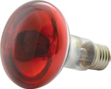 Discolampe R80 60W E27, rød