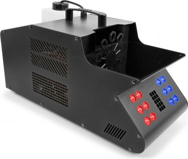 SB1500LED Smoke & Bubble Machine RGB LEDs