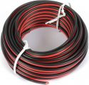 Universal Cable Red & Black 10m 2x 0.75mm