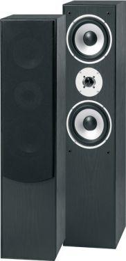 """Hi-Fi Højttaleresæt SHFT60B / 2x6.5"""" bas 300W, sort"""