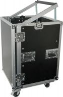 "PD-F16U8 19"" Rackcase 16U with Wheels"