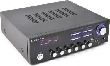 Stereo karaoke forstærker AV-120 / 2x60W MP3/USB