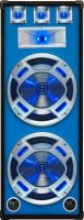 "Disco PA speaker 2x 15"" 1000W LED"