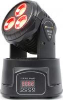 Mini Moving Head Wash MHL-45 / 3x 15W COB LED med DMX