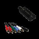 HDMI konverter kabel - HDMI hun til 5 x RCA (YPbPr) + Audio CV0059