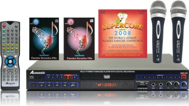 Famile Karaoke Pakke - over 300 sange