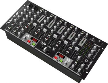 Behringer VMX1000USB Prof. 7 kanals DJ mixer med BEAT counter og USB
