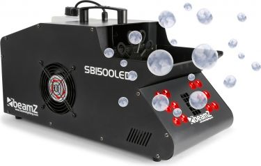 SB1500LED Smoke & Bubble Machine RGB LEDs