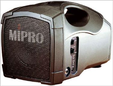 Mipro MA101C PA system incl mikrofon