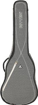 RitterBag Les Paul Guitar, Farve: Stålgrå & Gul