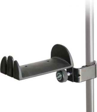 K&M hovedtelefon-holder m/clamp til stativrør