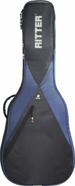 RitterBag Folk guitar, Farve: Navyblå & Sort