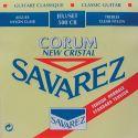 Savarez Rød New Corum guitarstrengesæt norm