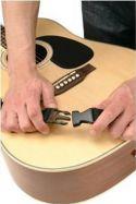 On-Stage Stands Guitar rem, m/click-it system, Sort