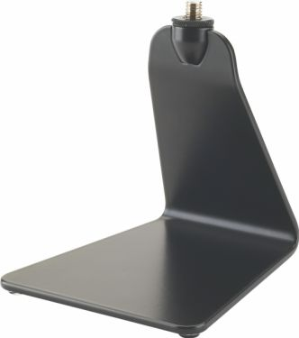 K&M bordstativ for talerstol, sort