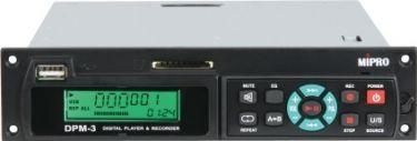 Mipro digital audio USB/SD player & recorder modul