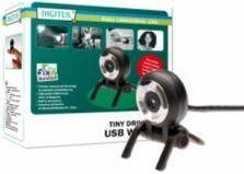 Digitus - Kompakt driverløs USB webcam (1,3 Mpix)