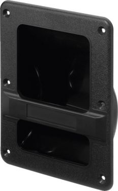 Recessed handle for speaker cabinets MZF-337