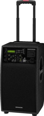 Portable high-power amplifier system TXA-900DCD