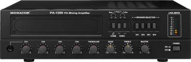 4-zone mono PA mixing amplifier PA-1200