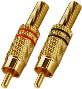 RCA Plug-In Connectors T-707GLC