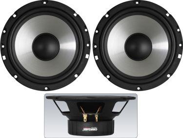 Pair of car hi-fi bass-midrange speakers, 35W, 4Ω CRB-165PS