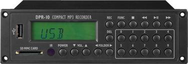 MP3-afspiller/optager DPR-10