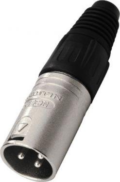 NEUTRIK XLR plug, 3 poles NC-3MX