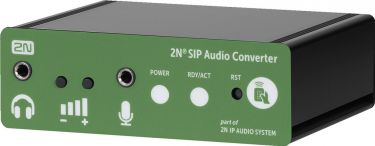 Audio via IP SIP-CONVERTER