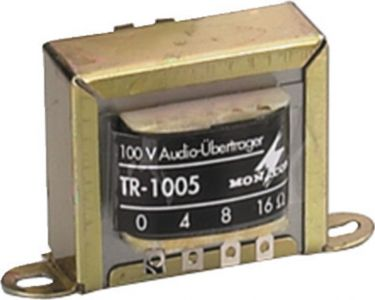 100V High-performance Audio Transformers TR-1005