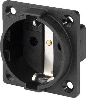 Earthed panel socket AAC-180J