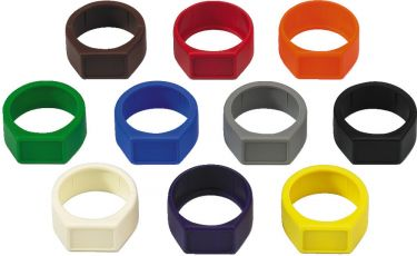 Colour coding rings XCR-10SET