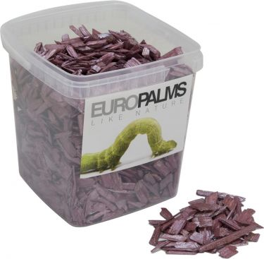 Europalms Deco Wood, cassis, 5.5l bucket