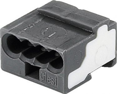 Connector for junction boxes from WAGO CC-104
