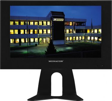 LCD colour monitor with LED backlight in a metal housing TFT-810LED