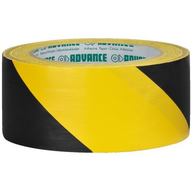 PVC-tape gul-sort AT-8/GESW