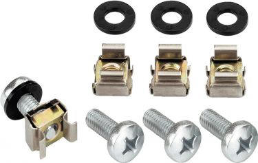 Set of cage nuts and screws MZF-8648