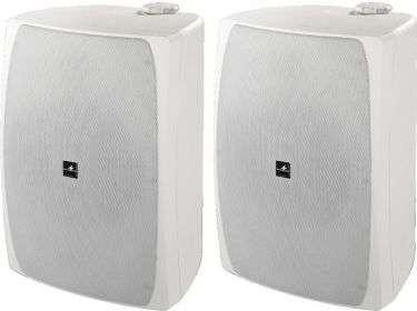 Pair of high-performance PA speakers, 100W each speaker system MKS-8PRO