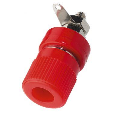 Telefonbøsning rød BP-360/RT