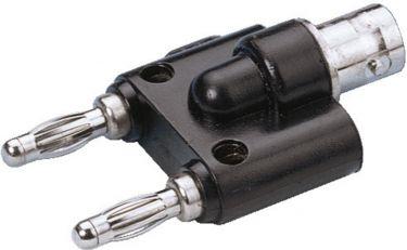 BNC jack/banana plug GE-866