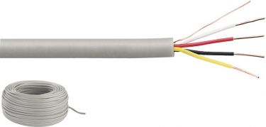 Signal cable, type J-Y(St)Y, 4x0.5mm2 JYSTY-2208