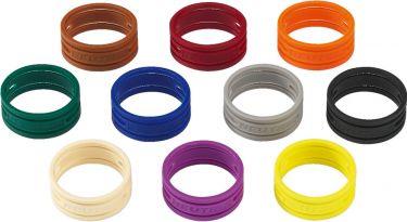 Colour coding rings XXCR-10SET