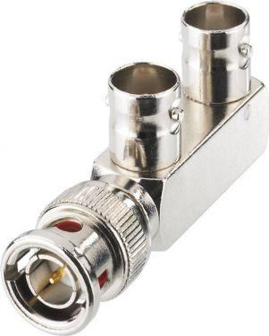 BNC Y splitter, 75Ω BNC-1170