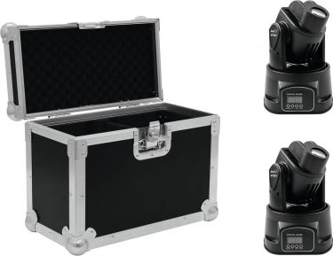 Eurolite Set 2x LED TMH-8 + Case
