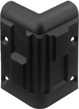 Plastic corner for speaker cabinets MZF-8512